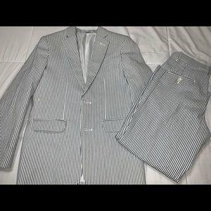 Boys Izod Seersucker Suit